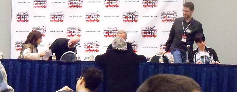 Star Wars panel with Timothy Zahn, Dak, and creators of Blue Milk Special
